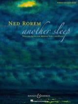 Another Sleep Ned Rorem Partition Chœur - laflutedepan.com