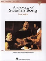 - Anthology Of Spanish Song. Voix Grave - Partition - di-arezzo.fr