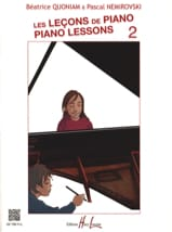 QUONIAM - NEMIROVSKI - The Piano Lessons - Volume 2 - Sheet Music - di-arezzo.co.uk