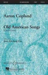Old american songs choral suite Aaron Copland laflutedepan.com