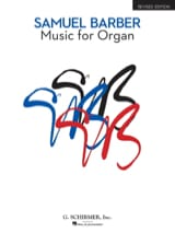 Samuel Barber - Music For Organ - Partition - di-arezzo.fr