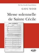 Charles Gounod - Messe Solennelle Sainte Cécile - Partition - di-arezzo.fr