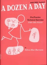 A Dozen A Day Volume 3 en Anglais Partition Piano - laflutedepan.com