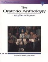- The Oratorio Anthology. Mezzo / Alto - Partition - di-arezzo.fr
