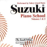 Suzuki - Méthode de Piano Volume 1 et 2. CD - Partition - di-arezzo.fr