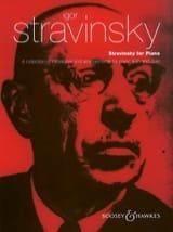 Stravinsky For Piano Igor Stravinski Partition laflutedepan.com