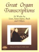 Great Organ Transcriptions Partition Orgue - laflutedepan.com