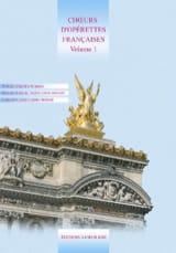 Choeur d' Operettes Françaises Volume 1 Partition laflutedepan.com
