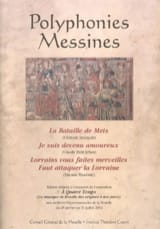 - Polyphonies Messines - Partition - di-arezzo.fr