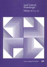 Messe En F Opus 159 Josef Gabriel Rheinberger laflutedepan.com