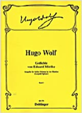 Gedichte Von Eduard Mörike Volume 1 Hugo Wolf laflutedepan.com