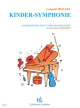 Kinder-Symphonie Leopold Mozart Partition Piano - laflutedepan.com