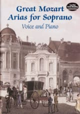 Great Mozart Arias For Soprano - MOZART - Partition - laflutedepan.com