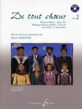 Hervé Magnan - From any choir Volume 2 - Sheet Music - di-arezzo.com