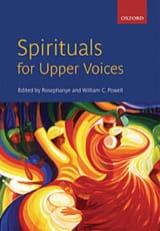 Spirituals For Upper Voices - Partition - Chœur - laflutedepan.com