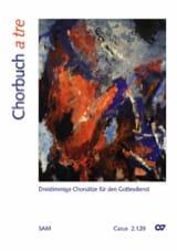 Chorbuch A Tre - Partition - Chœur - laflutedepan.com