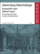 Ausgewählte Fugen Johann Georg Albrechtsberger laflutedepan.com