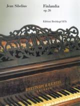 Finlandia Opus 26 Jean Sibelius Partition Piano - laflutedepan.com
