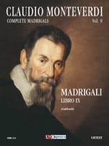 Madrigali Libro 9 Claudio Monteverdi Partition laflutedepan.com