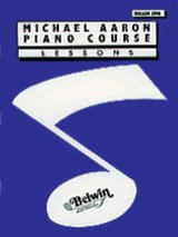 AARON - Piano Course Lessons Volume 1 - English Version - Sheet Music - di-arezzo.co.uk