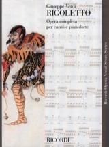 Rigoletto Giuseppe Verdi Partition Opéras - laflutedepan.com