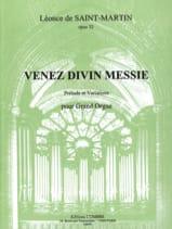 Léonce de Saint-Martin - Venez Divin Messie Op. 32 - Partition - di-arezzo.fr