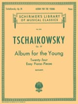 TCHAIKOWSKY - Album For The Young Opus 39 - Partition - di-arezzo.fr