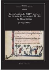 Polyphonies Du 13ème Siècle Partition Chœur - laflutedepan.com