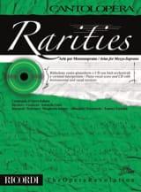 Rarities. Arie per mezzo-soprano Partition laflutedepan.com
