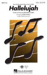 Leonard Cohen - Hallelujah - Sheet Music - di-arezzo.co.uk