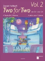Two For Two Volume 2 Daniel Hellbach Partition Piano - laflutedepan