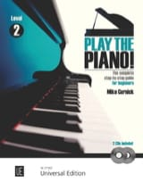 Play The Piano Volume 2 Mike Cornick Partition laflutedepan.com