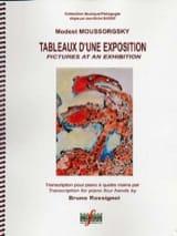 Tableaux D'une Exposition. 4 mains Modest Moussorgsky laflutedepan.com