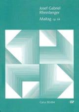 Maitag Op. 64 - Josef Gabriel Rheinberger - laflutedepan.com