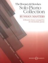 Russian Masters Partition Piano - laflutedepan.com