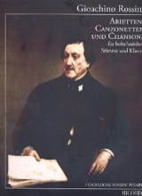 Gioachino Rossini - Arietten, Canzonetten and Songs - Sheet Music - di-arezzo.co.uk