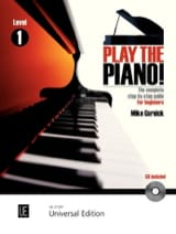 Play The Piano Volume 1 Mike Cornick Partition laflutedepan.com