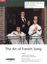 The Art of French Song Volume 2 - Partition - laflutedepan.com