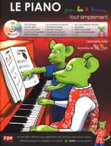 Christophe Astié - The Piano For 5 - 8 Years ... Simply - Sheet Music - di-arezzo.com
