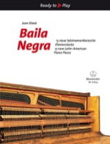 Baila Negra - Jean Kleeb - Partition - Piano - laflutedepan.com