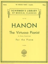 HANON - The Virtuoso Pianist in 60 exercises - Sheet Music - di-arezzo.co.uk