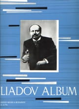 Liadov Album Anatoly Liadov Partition Piano - laflutedepan.com