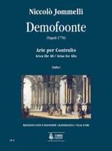 Demofoonte - Niccolo Jommelli - Partition - laflutedepan.com