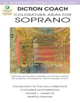 - Diction Coach - Coloratura Arias For Soprano - Sheet Music - di-arezzo.com