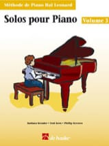 Kreader / Kern Jerome / Keveren - Solos For Piano Volume 3 - Sheet Music - di-arezzo.co.uk