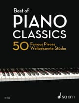 Best Of Piano Classics - Partition - Piano - laflutedepan.com