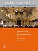 10 Improvisationen Op. 541 Joseph Low Partition Orgue - laflutedepan
