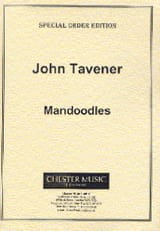 John Tavener - Mandoodles For A Young Pianist - Partition - di-arezzo.fr
