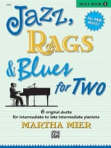 Jazz, Rags And Blues For Two Volume 3 Martha Mier laflutedepan.com