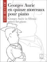 Georges Auric En Quinze Morceaux Pour Piano laflutedepan.com